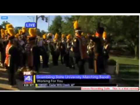 Grambling State University Marching Band on FOX4 Kansas City