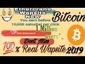 Earn FREE BITCOIN Wapsite Ethercrane Earn up to 0.00010000 BTC Per Click