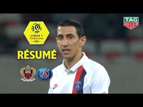 OGC Nice - Paris Saint-Germain ( 1-4 ) - Résumé - (OGCN - PARIS) / 2019-20