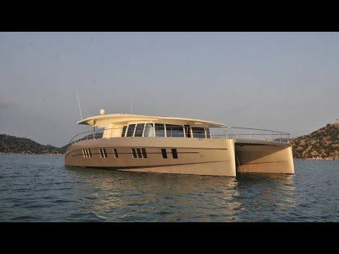 Solarwave 64 Catamaran Luxury Solar Yacht Exterior