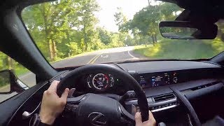 2018 Lexus LC 500 - POV Test Drive & Review!
