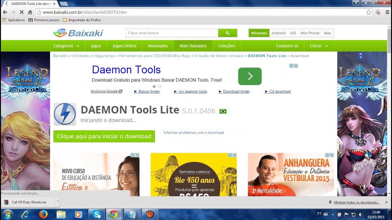 daemon tools lite download gratis baixaki