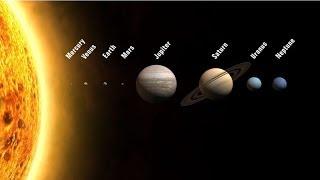 El Espacio, Los Planetas Para Niños. Solar System in Spanish for Children (Video Infantil) HD