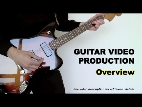 how to make guitar youtube videos