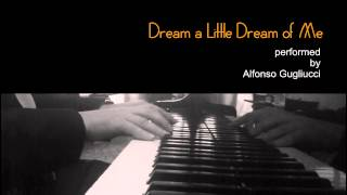 Dream a Little Dream of Me - jazz piano