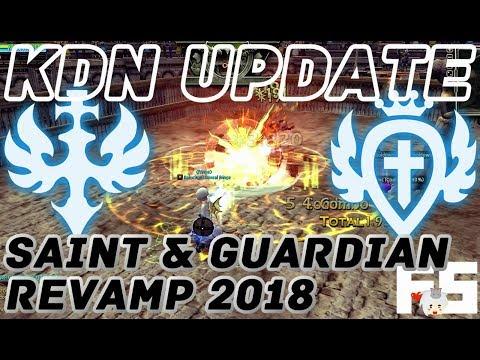 Dragon Nest Update: Guardian & Saint Revamp And Skill Balance KDN 2018