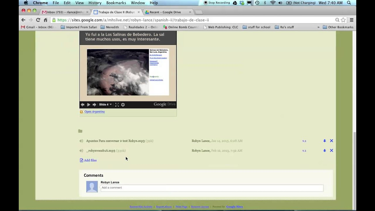 How to upload a video to Google Sites