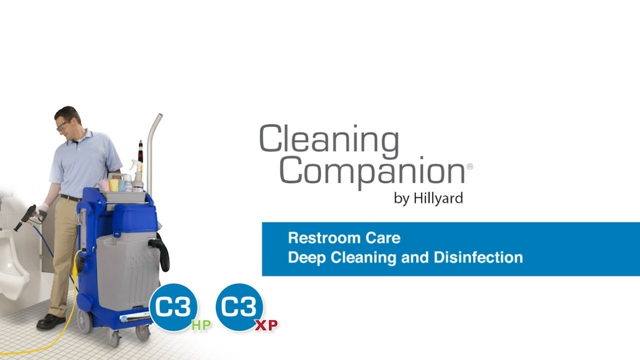 Hillyard C3 Restroom Cleaning : Hillyard c restroom deep cleaning and disinfection youtube