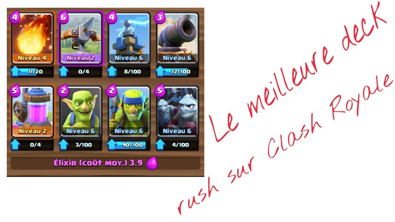 Deck arc x clash royale youtube for Clash royale deck arc x