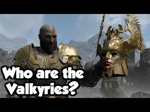 Who are the Valkyries? - Exploring the Mythology Behind God of War 4 (SPOILERS)