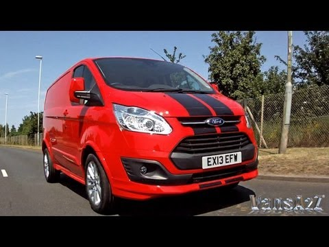 Ford Transit Custom Sport Van Amp Econetic Youtube