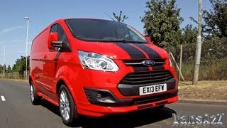 Ford Transit Custom Sport Van & ECOnetic