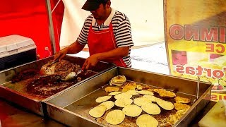$.47 Cent TACOS - Incredible MEXICAN STREET FOOD - DEEP In The Streets Of SAN LUIS, MEXICO