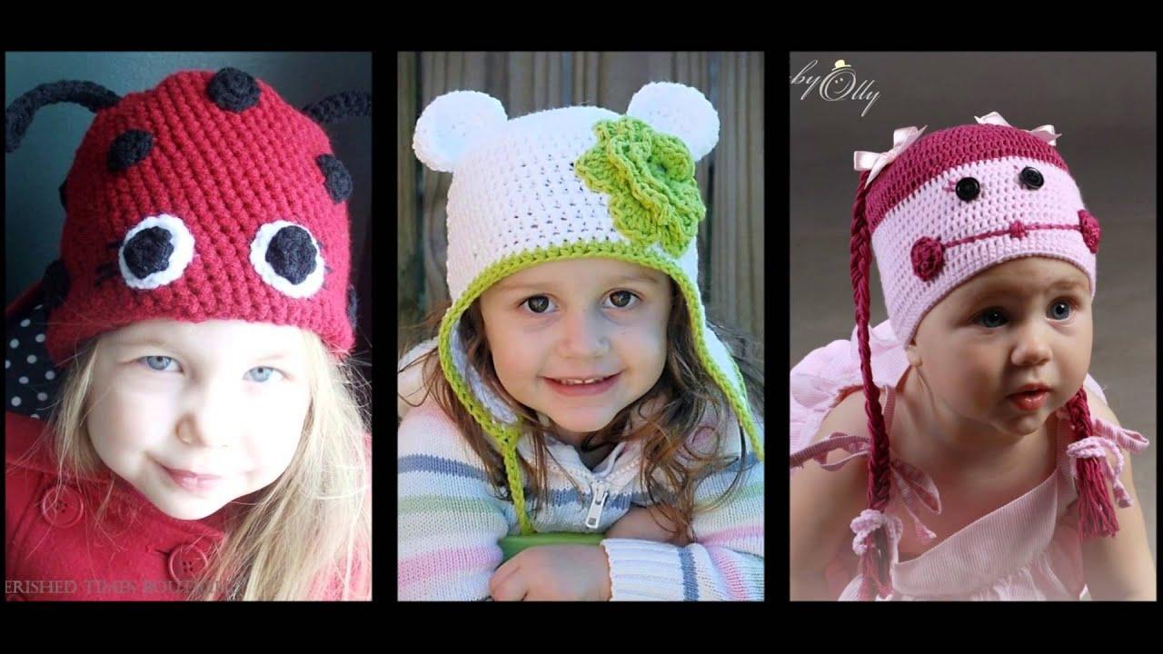 вязание спицами детской шапочки двойной схема видео