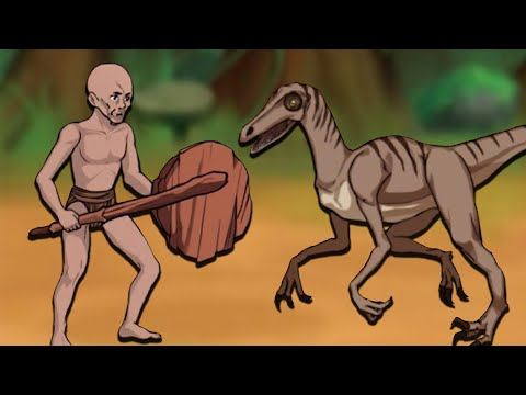 Travelling Through Time to Destroy the Dinosaurs! (Primitive Brothers)