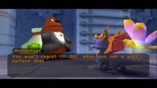 Spyro 2 Gateway to Glimmer Walkthrough Part 15 - Autumn Plains [1-1]