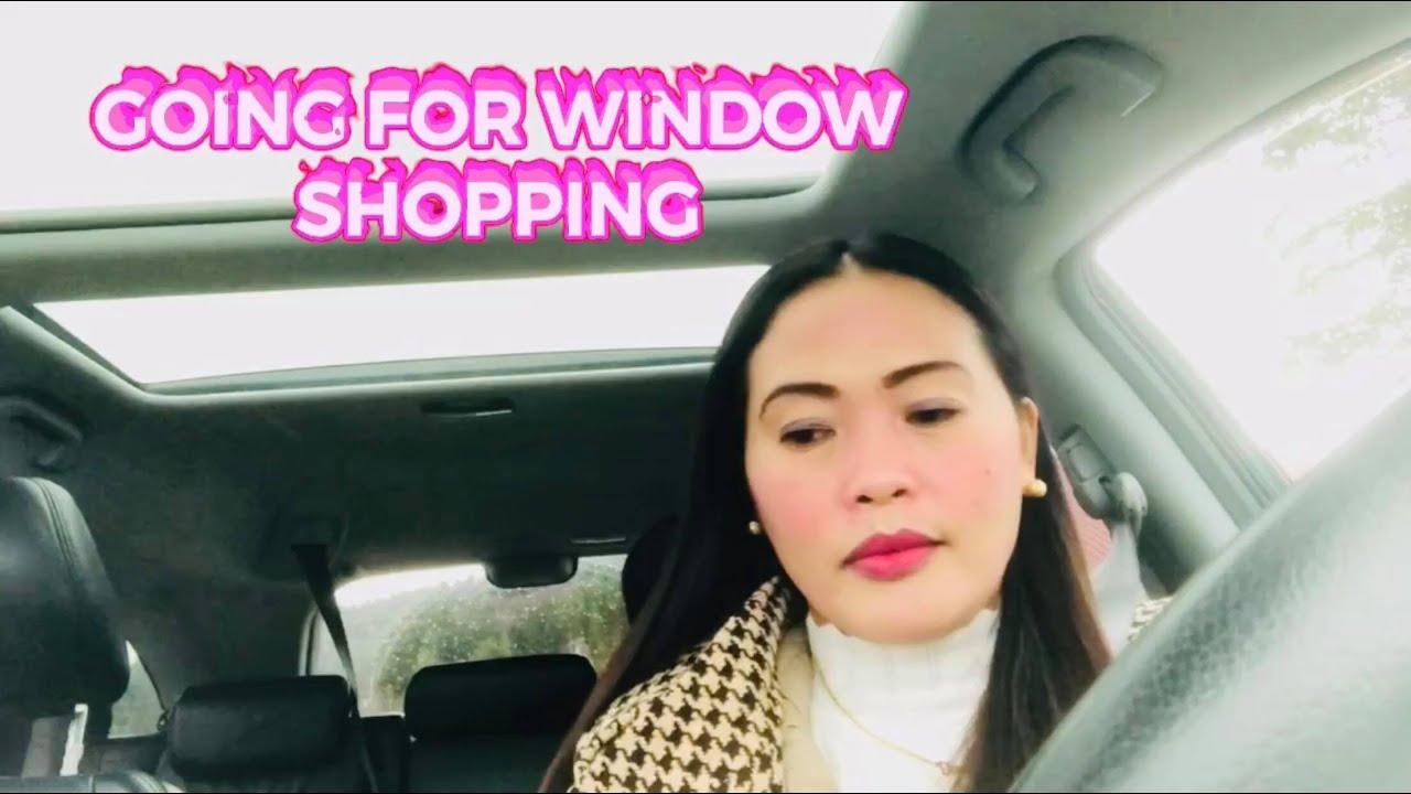 WINDOW SHOPPING WiTH MY YOUNGER SISTER JHEN