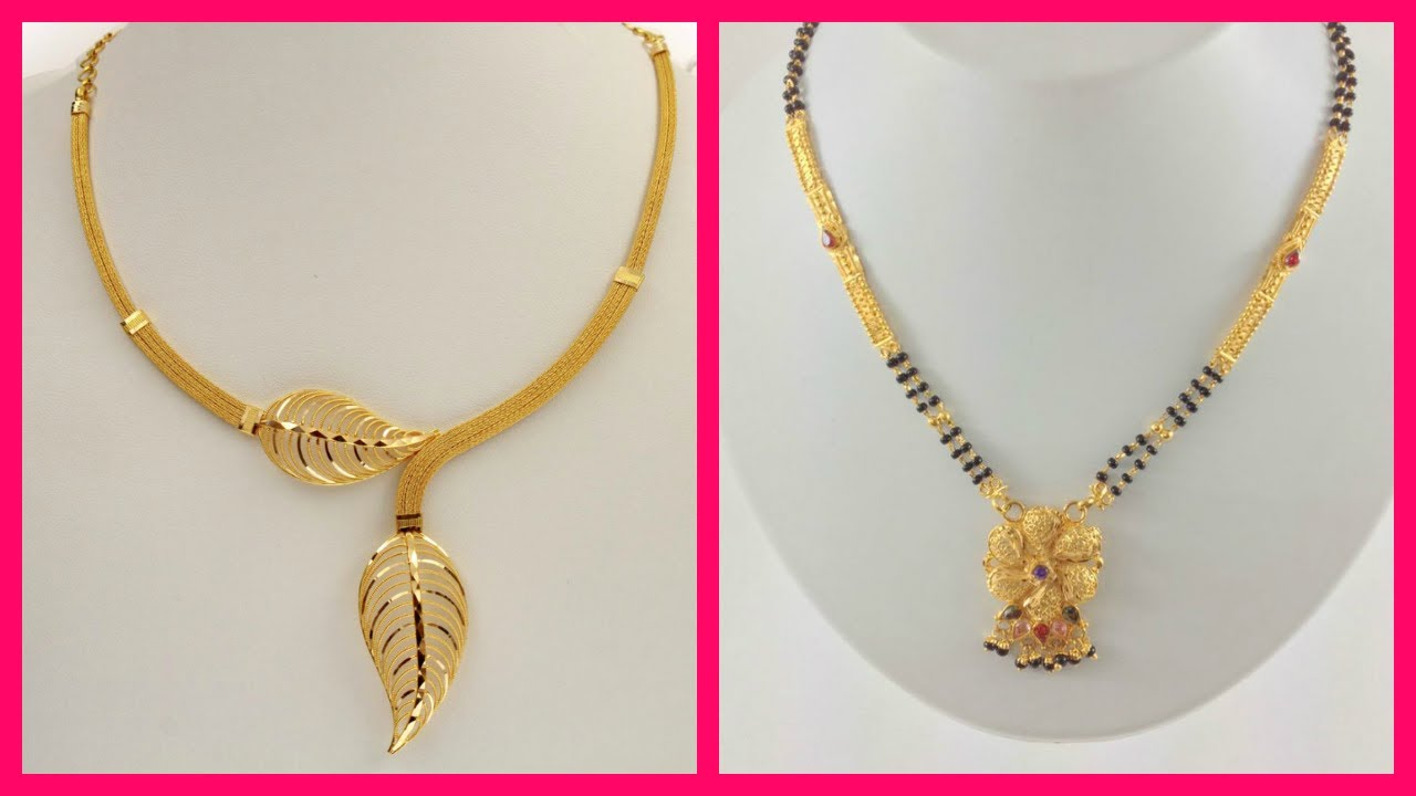 gold anextweb design of necklace simple