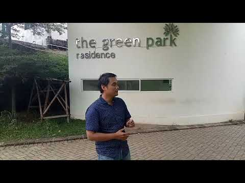 The Green Park Residance Rumah 2 lantai