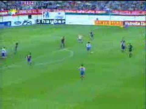 Gol de Caminero al Barça