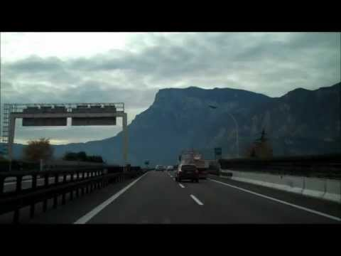 Bolzano to Trento : Over the Alps part 11 of 12 from YouTube · Duration:  5 minutes 41 seconds