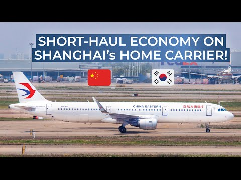 TRIPREPORT | China Eastern Airlines (ECONOMY) | Shanghai Pudong - Seoul Incheon | Airbus A321
