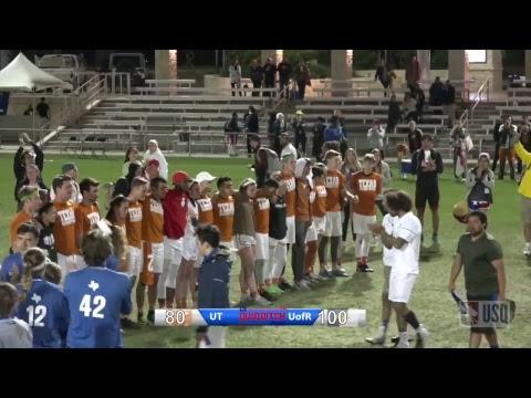 UT vs - UofR - College Championship
