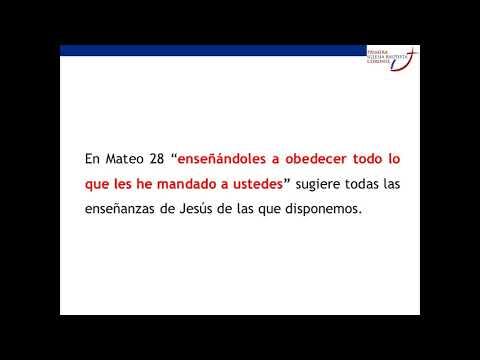 Reflexiones sobre el Sermón del Monte - Pr. Juan Carlos Barrera