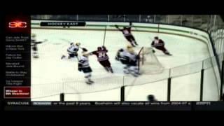 ESPN SportsCenter Highlights Of UMass Hockey 5OT Win At Notre Dame