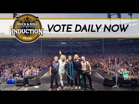 DEF LEPPARD NOMINATED FOR ROCK & ROLL HALL OF FAME