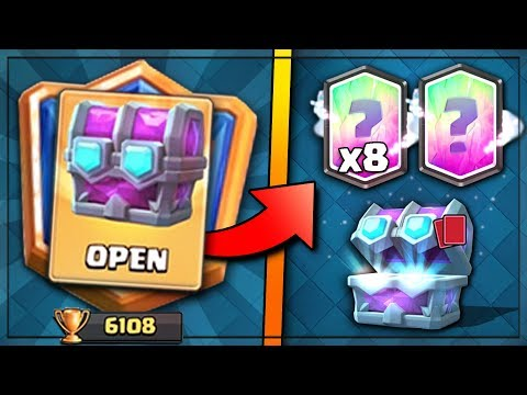 x8 LEGENDARIES & GRAND CHAMPION DRAFT CHEST! | Clash Royale | OPENING DRAFT CHEST & SUPER MAGICALS