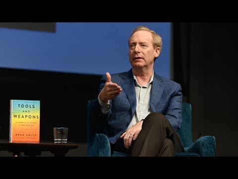 Microsoft President Brad Smith On The Promise And The Peril Of The Digital Age