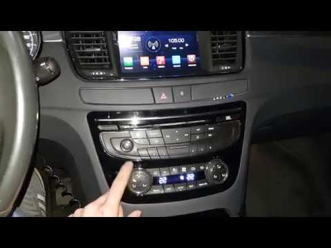 PEUGEOT 508 JBL ANDROID HeadUnit CanBus z RT6