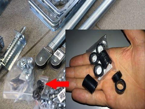 видео: Для чего нужны втулки в комплекте ворот