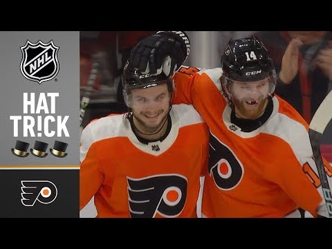 Sean Couturier earns second career playoff hat trick in Game 6 loss
