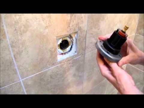 Kohler Forte Single Handle Shower Faucet Repair - YouTube