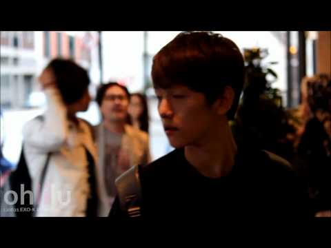 120622 EXO-K in London (Baekhyun focus)