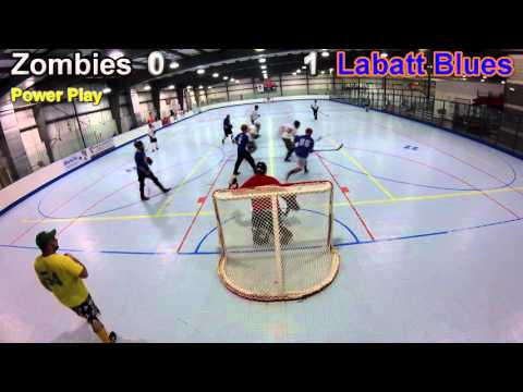 RSHL C Division Zombies vs Labatt Blues