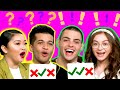 Guess the Celeb by Their VOICE w/ Lana Condor, Noah Centineo, Jordan Fisher, and Anna Cathcart