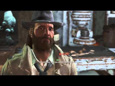 Fallout 4: Convincing Virgil to Kill Himself [High Charisma]
