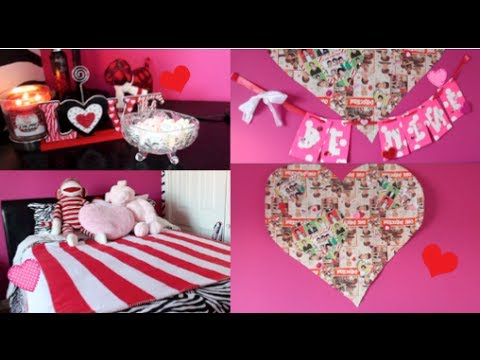 Diy Decorations For Valentines Day Ways To Spice Up Your Room