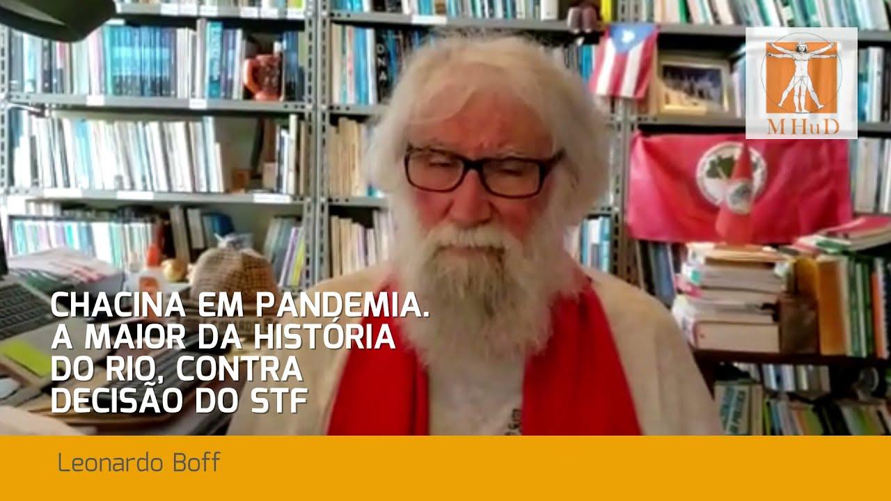 Leonardo Boff fala sobre a chacina do Jacarezinho
