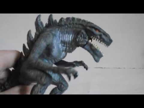 "Trendmasters Godzilla 1998 ""Zilla"" Toy Review - YouTube"