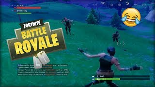 Fortnite Battle Royale Dancing With the Enemy!! (Funny Moments)