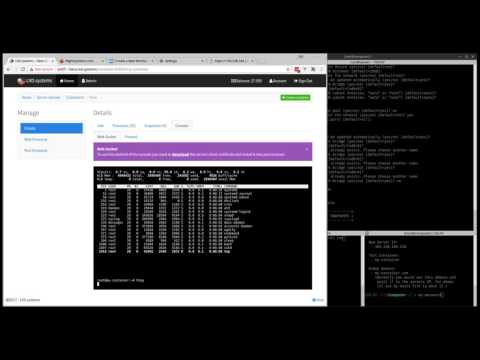 LXD.systems - LXD, NGINX Web Proxy & Port forwarding control panel - Preview