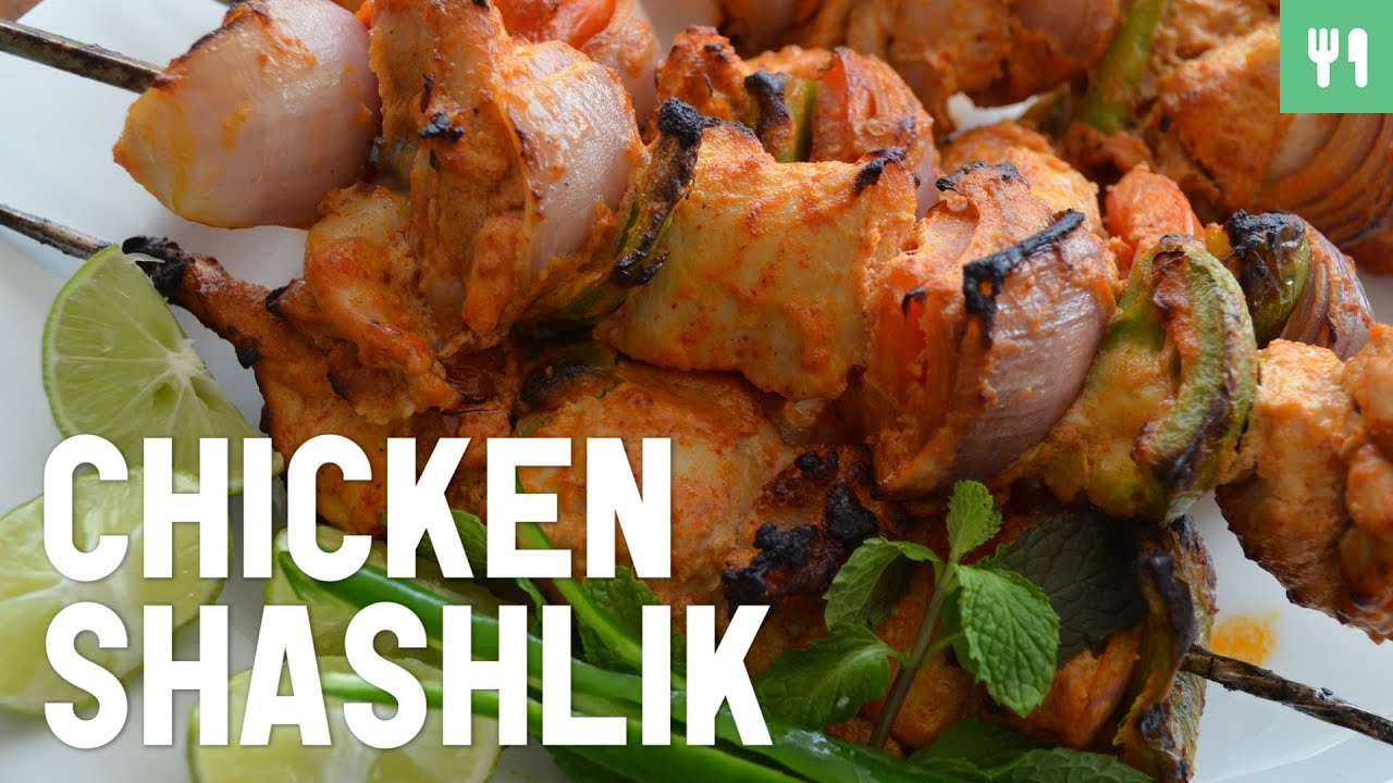 chicken shashlik indian food youtube
