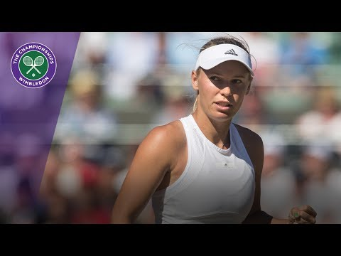 Wimbledon 2017 - Caroline Wozniacki digs deep to defeat Kontaveit