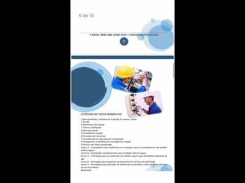 Tutorial De Acesso Ao E Book Norma ABNT NBR 16384 | De Segurança Com Eletricidade
