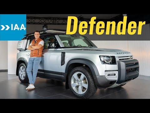 Defender 2020: к черту раму и мосты! Новый Land Rover Defender