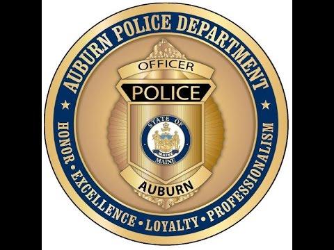 City of Auburn Maine Police - Swearing-In & Badge Pinning Ceremony